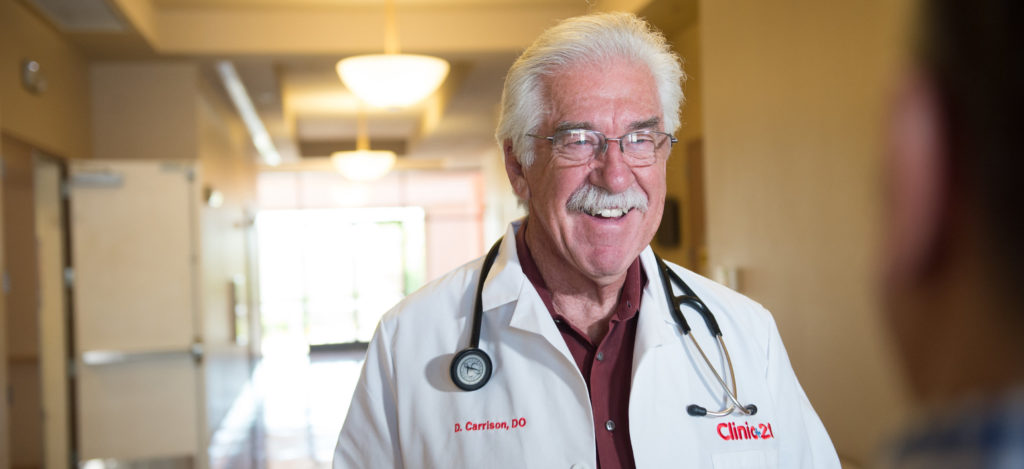Dr. Carrison talks aboiut hearing and his own personal challenges.