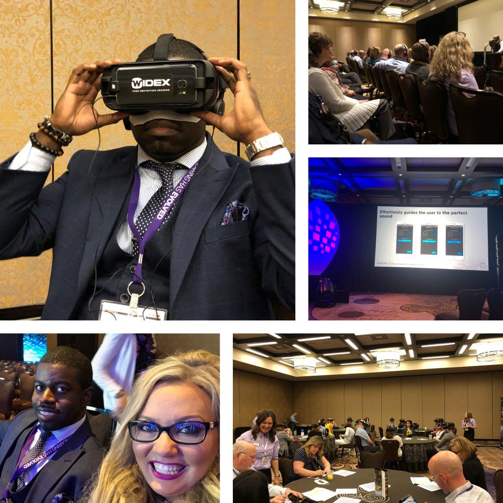 widex evoke hearing aids conference