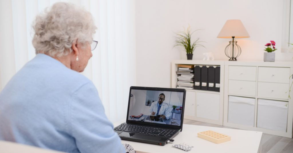 Social Distancing With TeleHealth Services