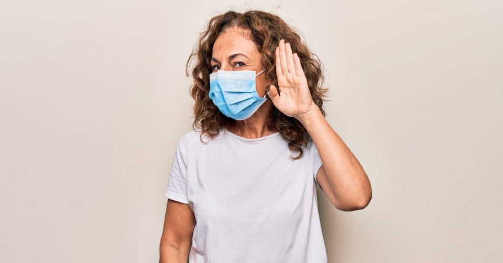 Higher Rates of Detecting Hearing Loss Thanks to… Masks?